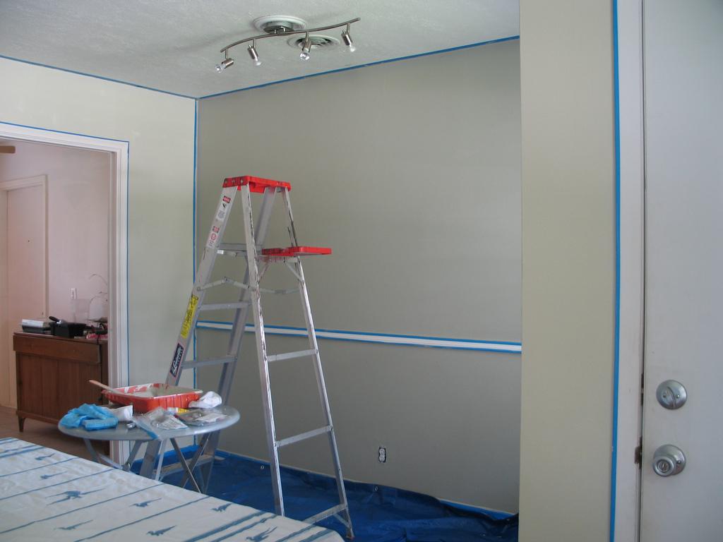 Trucos para pintar una casa de forma r pida y for Opciones para pintar mi casa interior