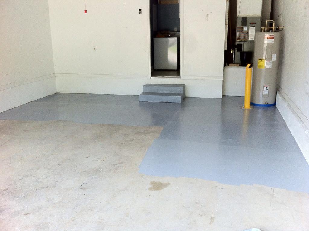 Como pintar suelo garaje pinturas carisma - Pintura para baldosas de cocina ...