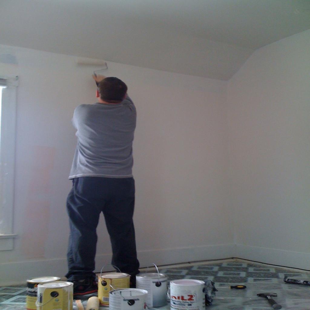 Como pintar una casa de forma correcta pinturas carisma for Como pintar casa interior