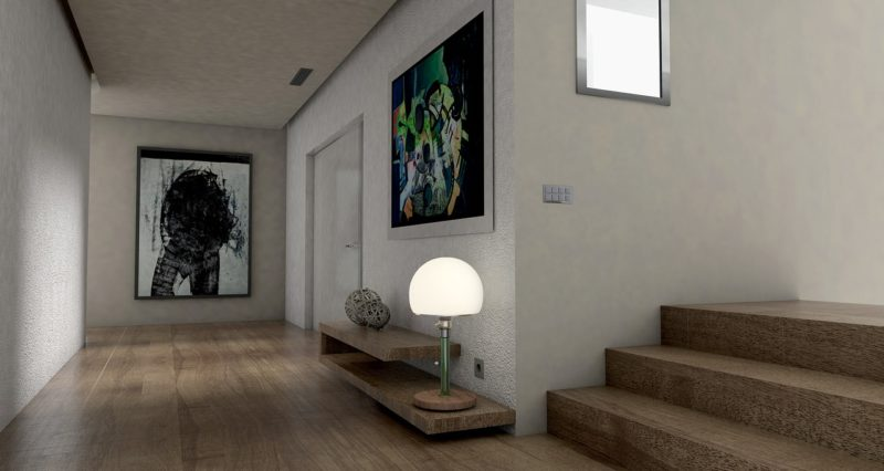 pintura entrada y pasillos